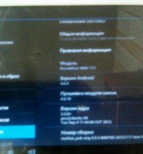 Детский планшет в рабочем состаяни поцарапн экран