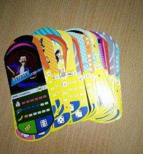 Карточки магнит