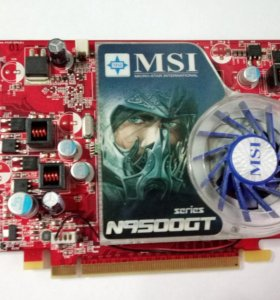 MSI GeForce 9500 GT 650Mhz PCI-E 2.0 512Mb