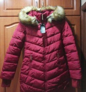 Куртка осенне-зимняя, новая