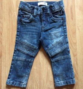Детские новые джинсы 74р
