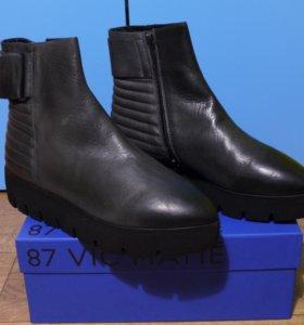 Новые кожаные ботильоны VIC Matie