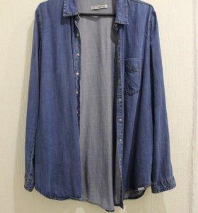 Джинсовая рубашка | Pull&Bear