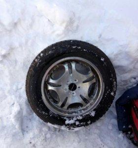 Диски шины, зима