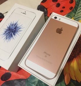 Продам iPhone SE 64 Rose Gold