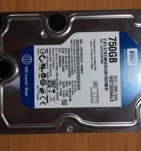 Жесткий диск WD 750GB