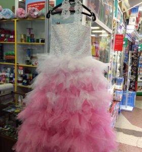 Нарядное платье на девочку 6-10 лет Торг
