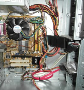 системный блок 2 ядра 775