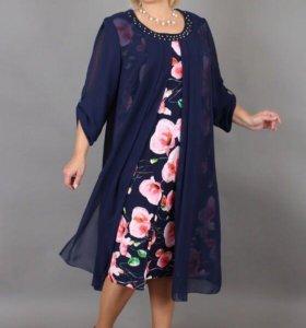 Платье, новое с этикеткой. Размер 62