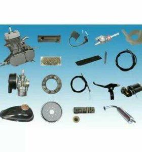 Двигатель Веломотор F80 (КОМПЛЕКТ для установки)