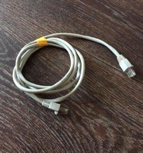 Интернет кабель 1,5 метра. 171217
