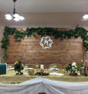 Оформление свадеб и юбилеев