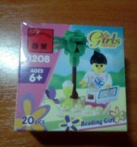 Лего Brick Girls series