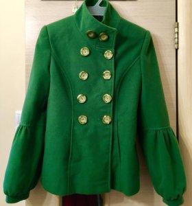 100 % кашемир пальто