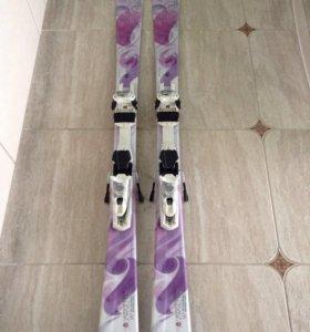 Горные лыжи р.147 геометрия на фото
