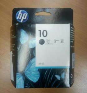 Картридж HP10. black HP 11 yellow