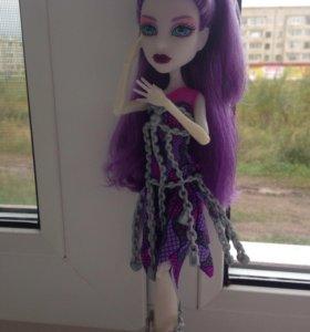 Кукла Monster High Спектра Вондергейст Haunted
