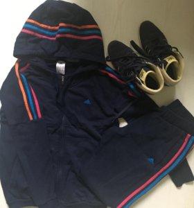 Спортивный костюм и кроссовки adidas