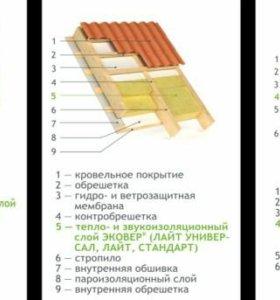 Утеплитель базальтовый Эковер Стандарт 50