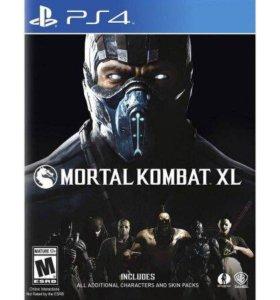 Mortal combat XL ps 4