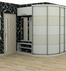 Шкафы-купе, радиусные шкафы