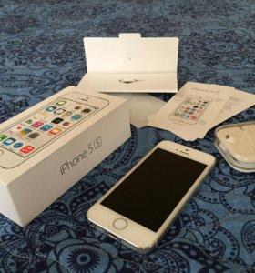 iPhone 5s 16gb Silve