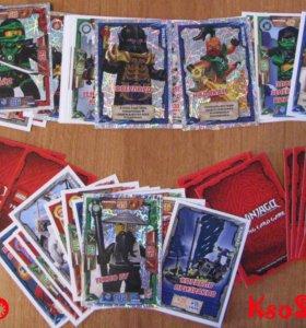 Продаю игральные карточки Lego-NinjaGo