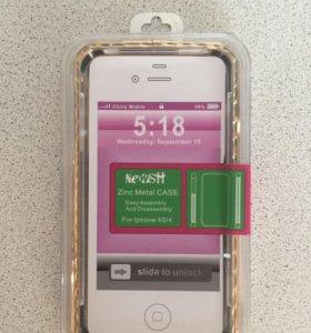 Новый чехол iPhone 4/4s