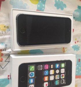 Apple iPhone 5s black 16gb