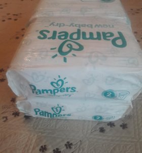 Pampers new baby-dry 144 штук