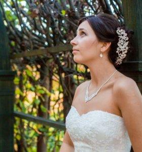 Свадебное украшение (комплект бижутерии)