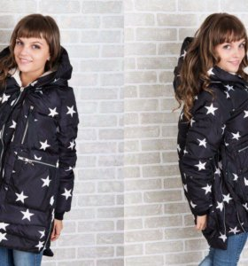 Куртка-трансформер звезды