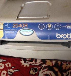 Лазерный принтер brother HL-2040R