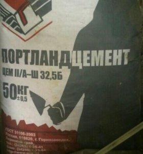 Цемент в мешках 50 кг свежий