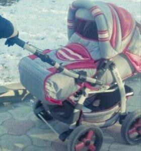 Продам коляску трансформер зима-лето