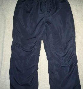 Утеплённые балоневые штаны Futurino