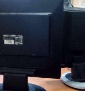 """Жк мониторы 17"""" Acer и Samsung б/у"""