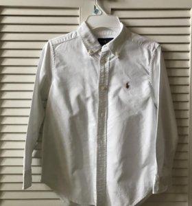 Белая рубашка Ralph Lauren, 6лет