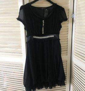 Новое шифон платье