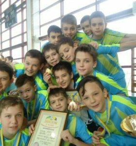 Спортивная школа набирает мальчиков 2005 г.р.