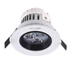 Светильник светодиодный 3W линзованный