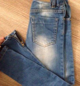Новые джинсы Zara girl