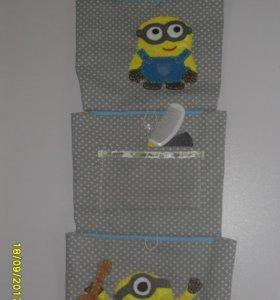 кармашки для шкафчика в детский сад