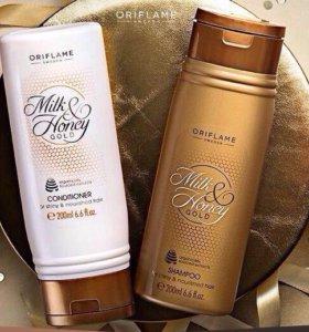 """Шампунь для волос """"Milk & Honey Gold"""""""