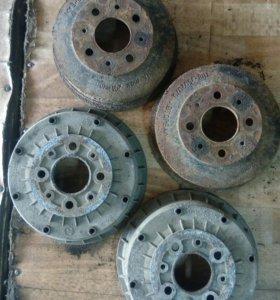 Тормозные барабаны ваз 2108—2115