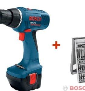 Новая Дрель-шуруповерт Bosch GSR 12-2 professional