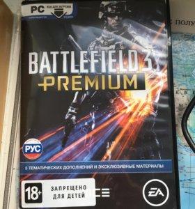 Battltfield3 Premium ключ к 5 дополнениям к игре