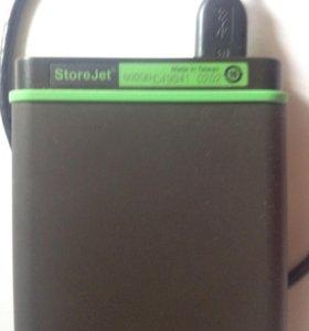 Портативный жесткий диск Transcend 500Gb
