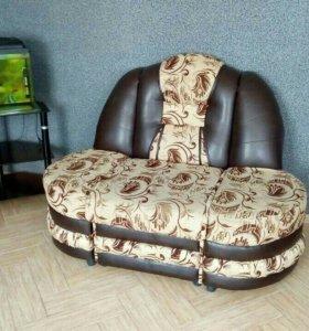 Мягкий угловой диван большой и + диван.