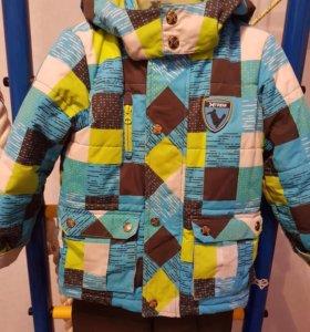 Зимний костюм для мальчика Густи